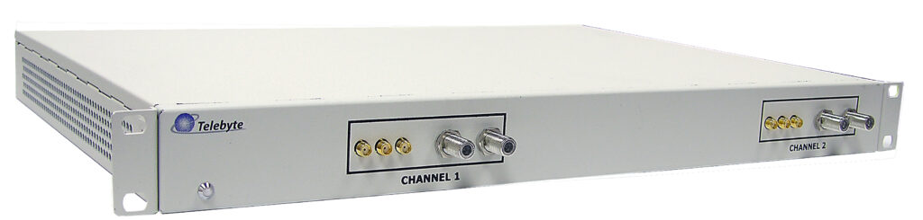 Telebyte Model 4902-2-300-COAX 2-Channel Coax Cable Noise Injector for  G.hn PLC noise injection.