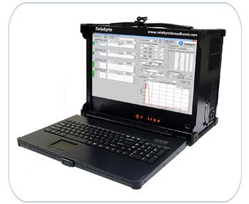 Telebyte Model 4902 20 kHz to 300 MHz Universal Noise Generator for Realistic G.hn Testing.